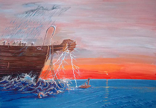 We  arent islands..we are rafts by Lazaro Hurtado