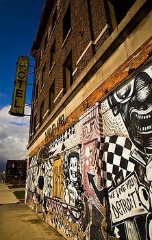We Love You Detroit by Daniel Mercadante