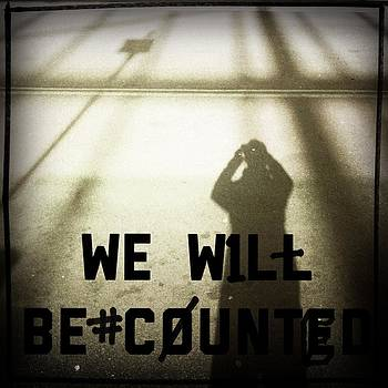 We will be counted by Greetje Kamps