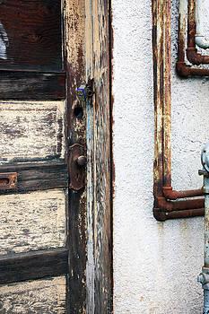 Weathered Door by Gerry Bates