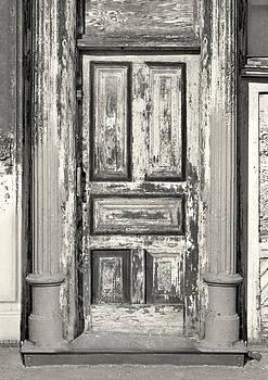 Weathered Door by Laura Schramm-Behnke
