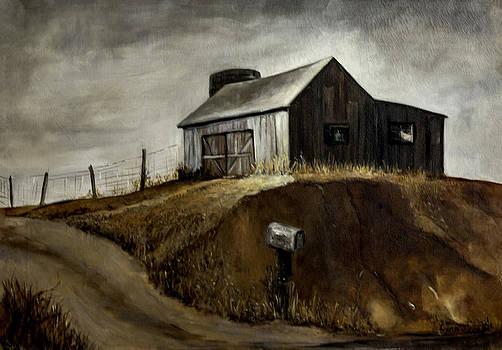 Lynn Palmer - Weathered Indiana Barn