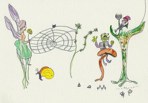 Web Faeries by Helen Holden-Gladsky