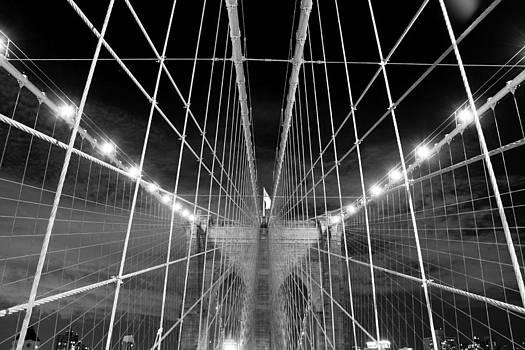 Web of the Brooklyn Bridge by Kenan BUYUK SUNETCI