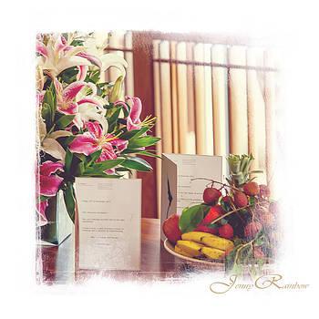 Jenny Rainbow - Wedding Congrats. Mini-Idea for Interior