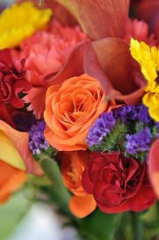 Wedding flowers by SW Johnson