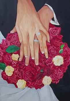 Wedding Hands by Nicole Zoe Miller