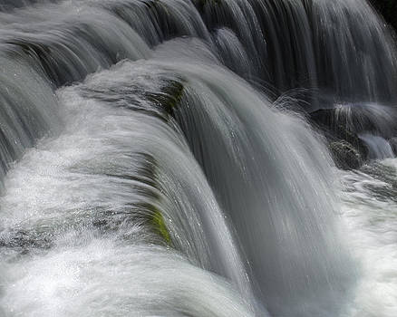 Weir on the River Wye Derbyshire by Riot Photography