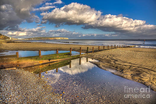 English Landscapes - Welcome Beach  Shanklin