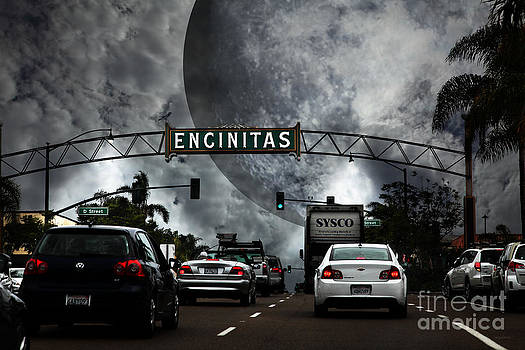 Welcome To Encinitas California 5D24221 by Wingsdomain Art and Photography