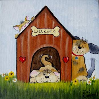 Welcome to the Doghouse by Debra Campbell