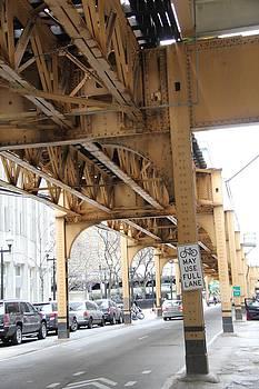 Wells Street - Chicago Original by Sue  Thomson