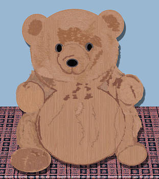Wes T Bear by Pharris Art
