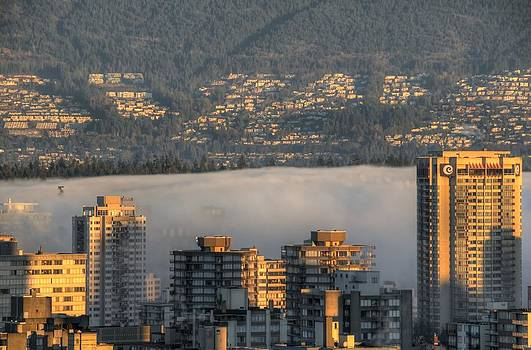 West End Fog Bank by Doug Farmer