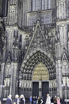 Teresa Mucha - West Entrance Door Cologne Cathedral