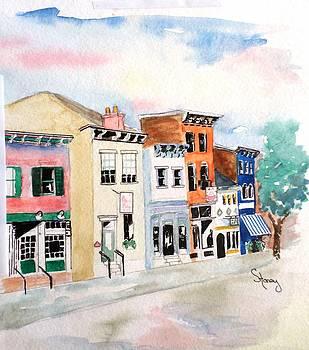West MainStrasse  by Sandi Stonebraker