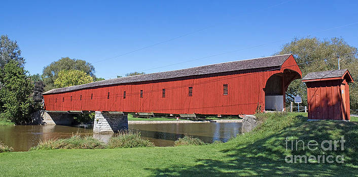 Barbara McMahon - West Montrose Covered Bridge