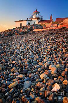 Inge Johnsson - West Point Lighthouse Rocks