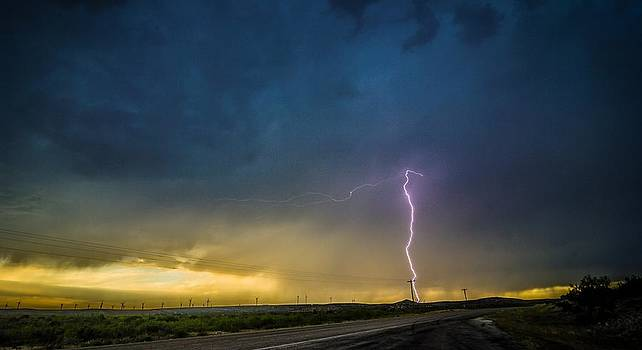 West Texas Thunderstorm by John Dickinson