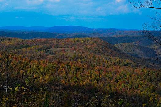 West Virginia Skyline by Wanda J King