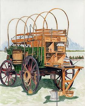 Western chuck Wagon by Gary Roderer