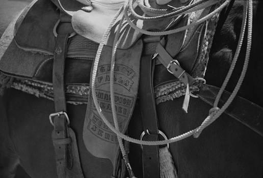 Harold E McCray - Western saddle I
