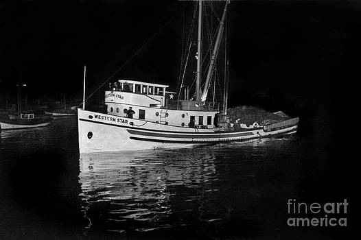 California Views Mr Pat Hathaway Archives - Western Star Purse seiner with a deck load of fish Monterey circa 1940