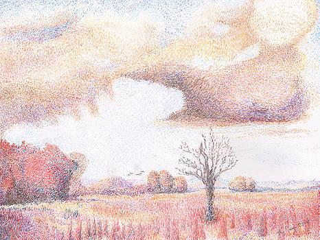 Western Vista - rain by William Killen