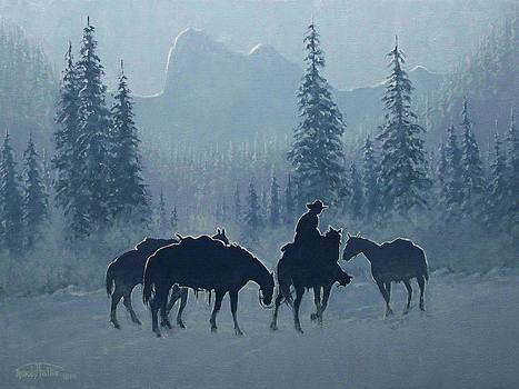Western Winter by Randy Follis