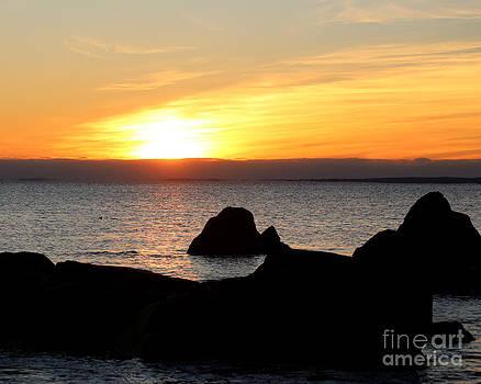 Westport Massachusetts Sunrise by Deborah  Smith
