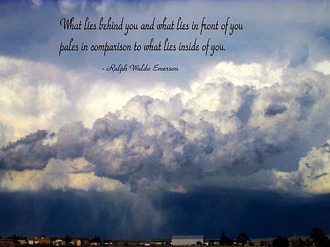 Joyce Dickens - What Lies Behind You