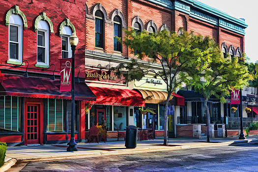 Christopher Arndt - Wheaton Front Street Store Fronts