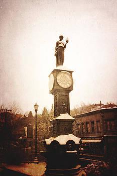 Wheeler Town Clock by Steven  Taylor