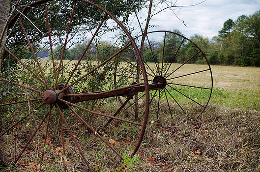 Wheels of Old by Sarah Barber