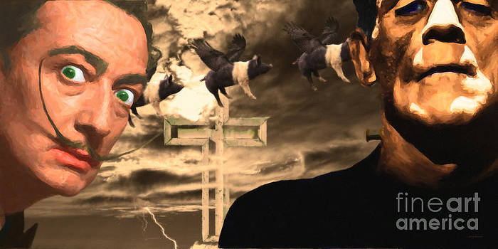 Wingsdomain Art and Photography - When Dali Met Frankenstein 20141215