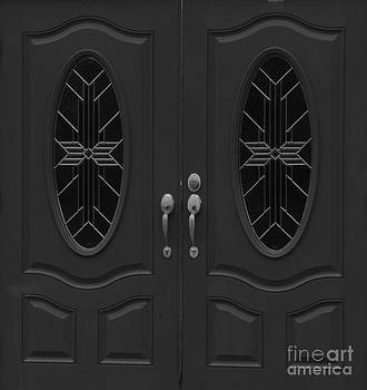 When One Door Closes In Black And White by Christy Beal