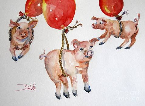 When Pigs Fly by Delilah  Smith