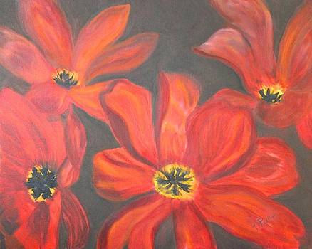 Whimsical Floral by Tracey Peer