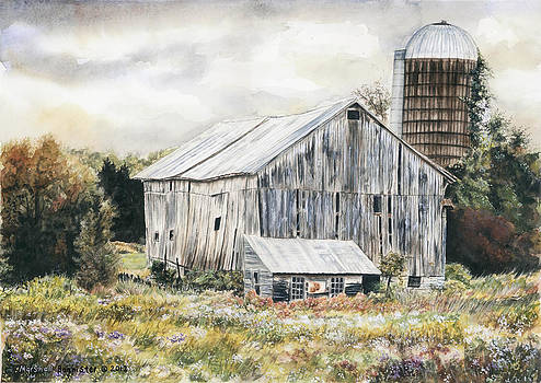 Steuben Road barn by Marshall Bannister