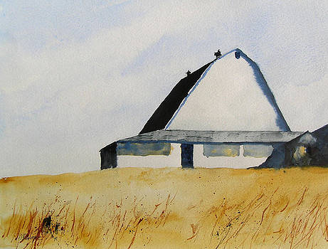 White Barn by William Beaupre