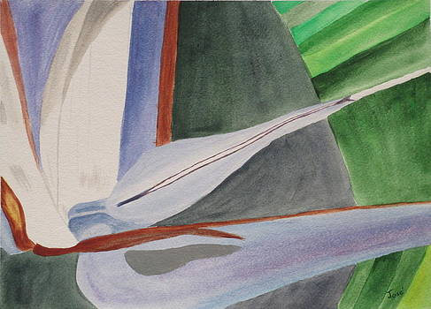White Bird of Paradise 2 by Hilda and Jose Garrancho