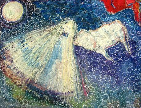 White Buffalo Calf Woman by Tolere
