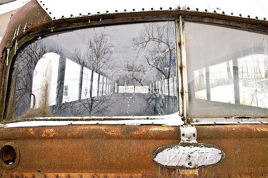 White Bus by Rebecca Skinner
