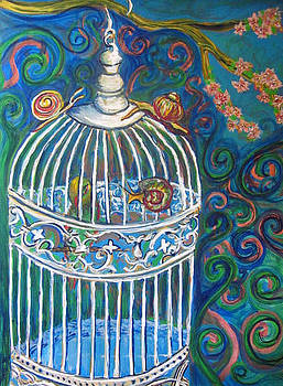 White Cage by Cherie Sexsmith