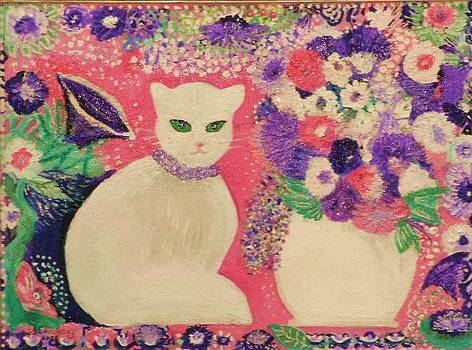 Anne-Elizabeth Whiteway - White Cat II