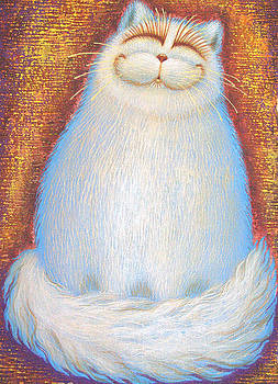 White Cat by Raisa Vitanovska