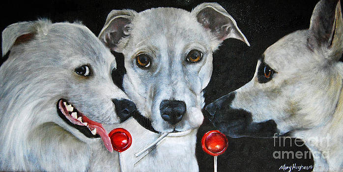 White Dogs and Tootsie Pops by Mary Hughes