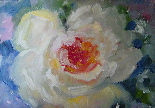 White Flower by Holly LaDue Ulrich