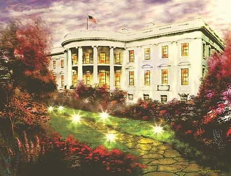 White House by Jessie J De La Portillo
