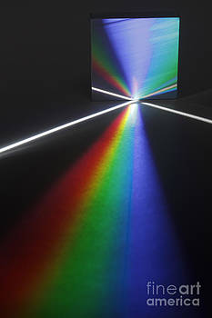 GIPhotoStock - White Light Dispersed By A Diffraction